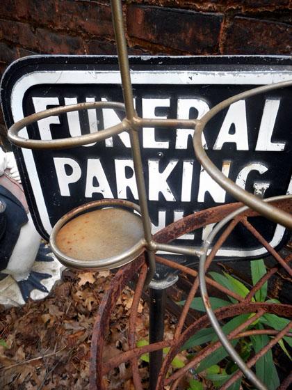 funeralparkingonly